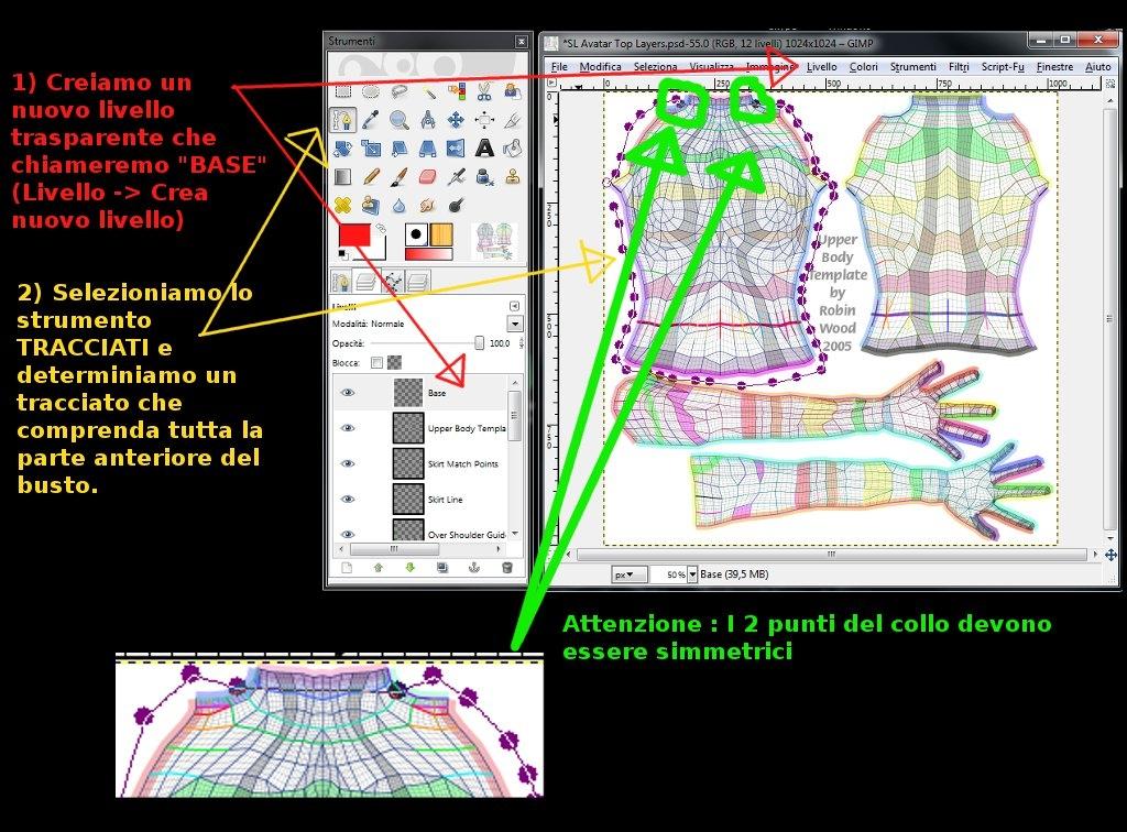 Abiti con i programmi grafici da dove partire gaia rossini for Chip midnight templates